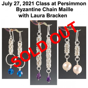 July 27, 2021 Chain Maille Class with Laura Bracken